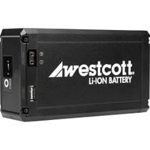 Westcott 14.8V Portable D-Tap Li-Ion Battery for Flex LED Mat