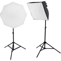 Westcott uLite LED 2-Light Collapsible Softbox Kit with 2.4 GHz Remote, 45W