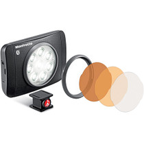 Manfrotto Lumimuse 8 On-Camera LED Light with Built-In Bluetooth (Black)