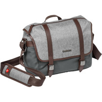Manfrotto Windsor Camera Messenger Bag (Small, Gray)