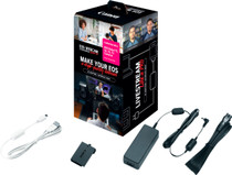 Canon EOS Webcam Accessories Starter Kit for EOS Rebel T3 T5 T6 & T7 DSLR Cameras