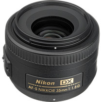 Nikon 35mm f/1.8G AF-S DX Wide Angle Auto Focus Nikkor Lens