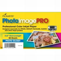 PhotoImage PRO Glossy Inkjet Paper 4 x 6 (50 sheets)