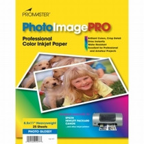 PhotoImage PRO Glossy Inkjet Paper   -  8 1/2 x 11'' - 25 sheets