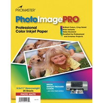 PhotoImage PRO Matte Inkjet Paper   -  8 1/2 x 11'' - 25 sheets