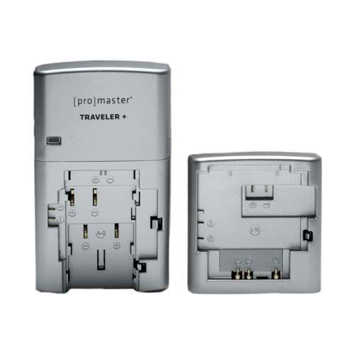 Promaster Traveler Charger for Most DSLR Batteries