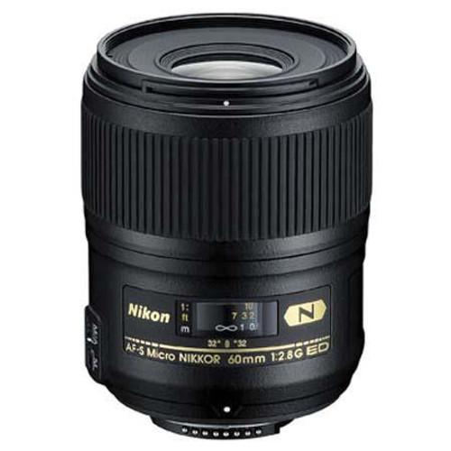 Nikon 60mm f/2.8G AF-S Micro Nikkor AF ED Lens