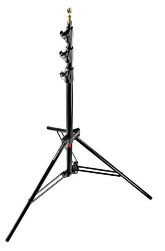 Manfrotto Alu Master Air Cushioned Light Stand Quick Stack (Black, 12')