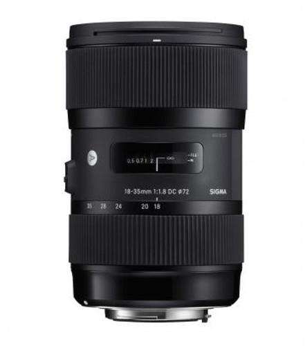 Sigma 18-35mm f/1.8 DC HSM Art Lens for Sony Alpha