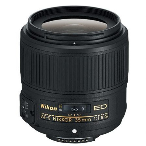 Nikon 35mm f/1.8G AF-S ED Nikkor Lens