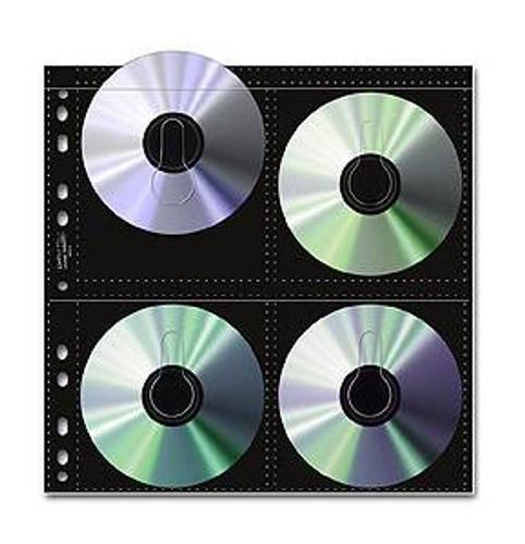 Print File CDB-8 CD Storage Pages (25 Pack)