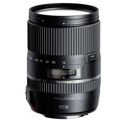 Tamron 16-300mm f/3.5-6.3 Di II VC PZD MACRO Zoom Lens, for Nikon AF Digital SLRs with APS-C Sensors, USA