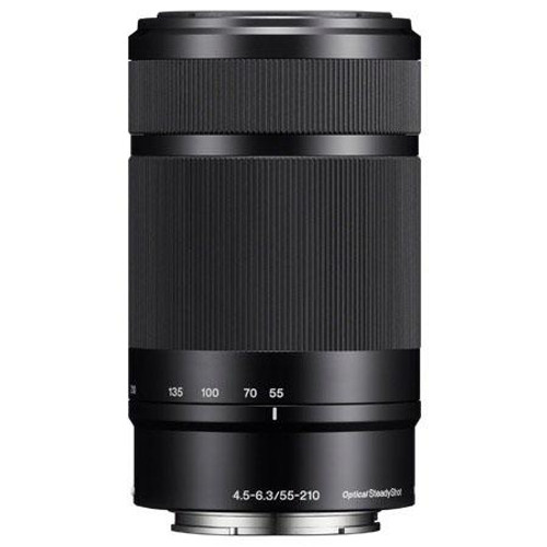Sony 55-210mm f/4.5-6.3 OSS E-Mount Camera Lens, Black