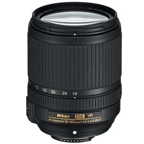 Nikon 18-140mm f/3.5-5.6G ED AF-S DX (VR) Lens