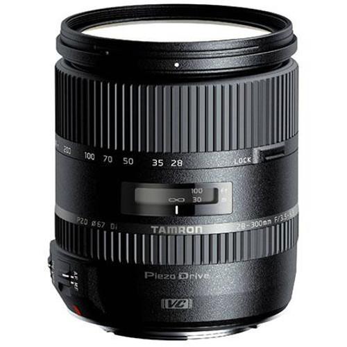 Tamron 28-300mm f/3.5-6.3 Di VC PZD Aspherical (IF) Zoom Lens for Nikon DSLRs - U.S.A. Warranty