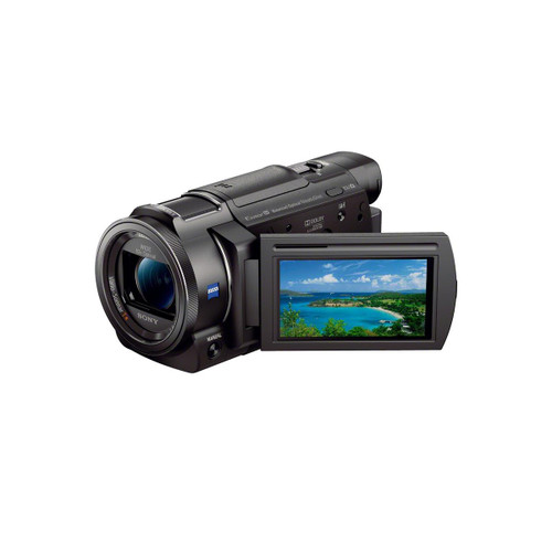 Sony FDR-AX33 4K Ultra HD Handycam Camcorder, 10x Optical Zoom, Black