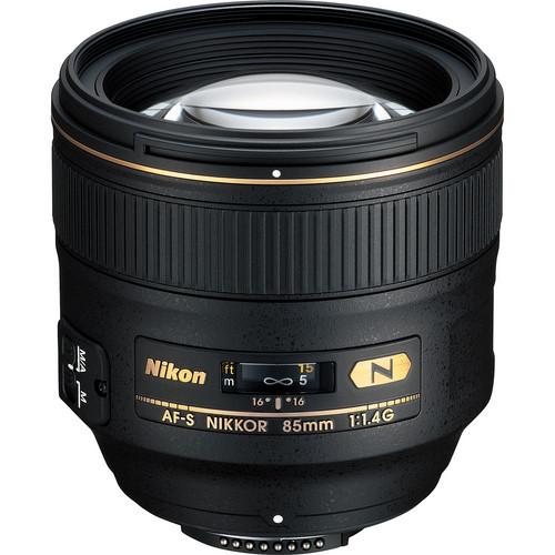 Nikon 85mm f/1.4G IF AF-S Auto Focus Nikkor Lens