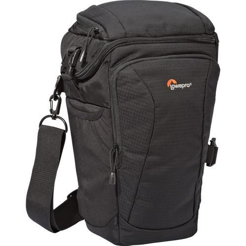 739da2b3d709 Lowepro Toploader Pro 75 AW II Holster Bag for DSLR (Black ...