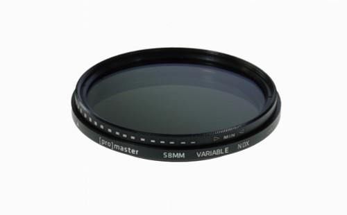 58mm Digital HGX Variable Neutral Density (VND) Filter