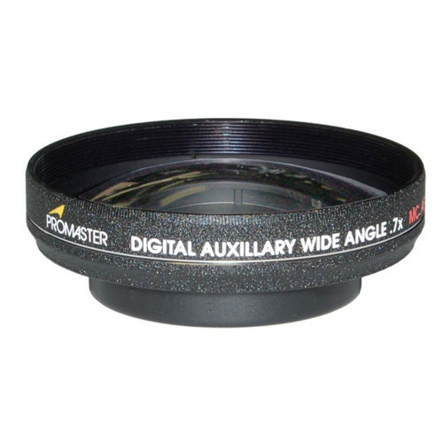 Promaster Digital Auxiliary .7x Wide Angle Converter 52mm