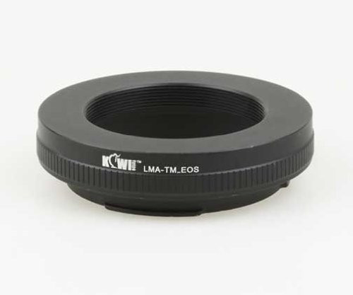 Kiwifotos Lens Mount Adapter (T Mount Lens to Canon EOS Camera Body)