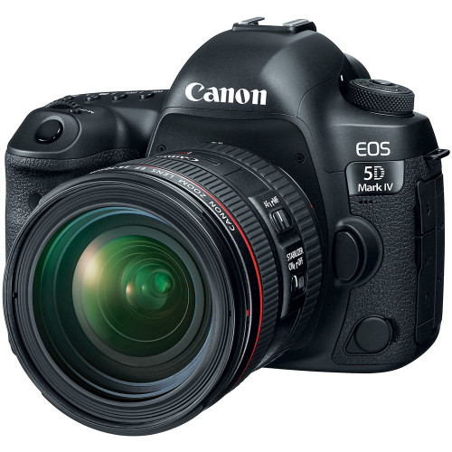 Canon EOS 5D Mark IV with EF 24-70mm f/4L IS USM Lens