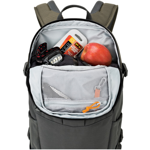 Lowepro Flipside Trek BP 350 AW Backpack (Gray/Dark Green)