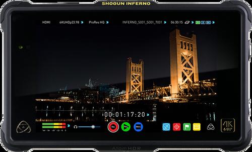 "Atomos Shogun Inferno 7"" 4K HDMI/Quad 3G-SDI/12G-SDI Monitor"