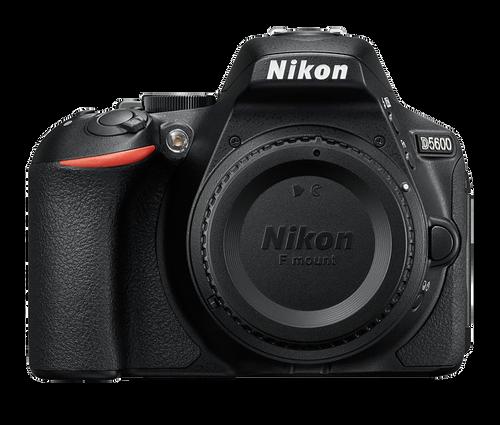 Nikon D5600 DX-format Digital SLR Body (Black)