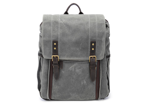 Ona Camps Bay Canvas Backpack (Smoke)