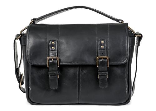 ONA Prince Street Camera Messenger Bag (Black, Italian Leather)