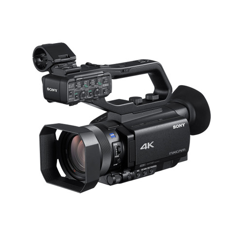 """Sony HXR-NX80 Compact 1"""" NXCAM 4K Camcorder"""