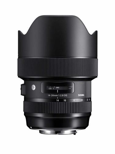 Sigma 14-24mm F/2.8 DG HSM Art Lens for Canon