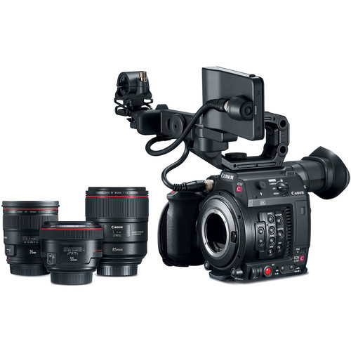 Canon Cinema EOS C200 with Prime Lens Bundle (EF Mount)