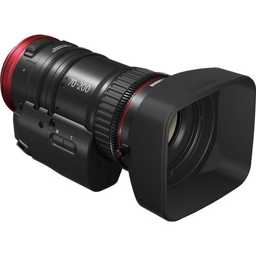 Canon CN-E 70-200mm T4.4 Compact-Servo Cine Zoom Lens (EF Mount)
