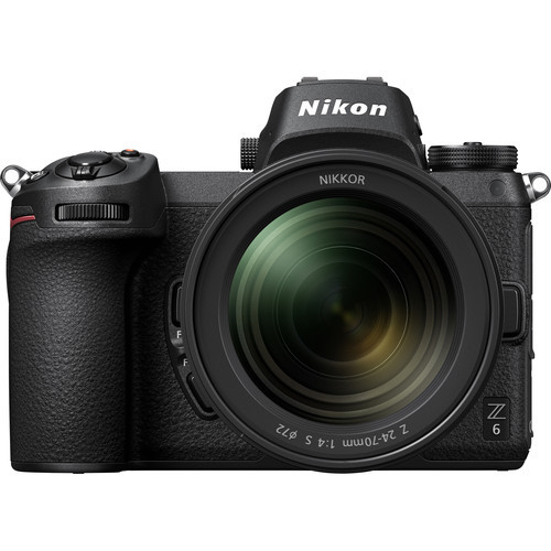 Nikon Z6 FX-format Mirrorless Camera Body with NIKKOR Z 24-70mm f/4 S Lens