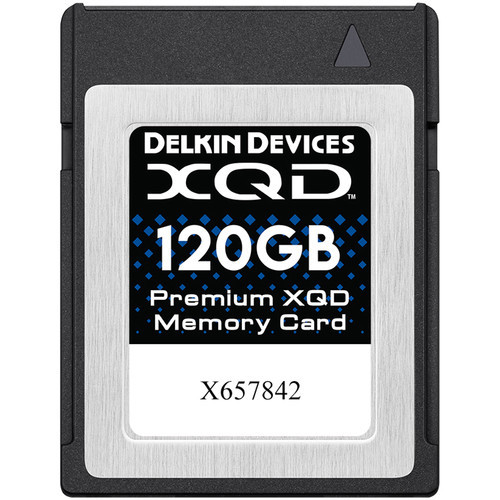 Delkin Devices 120GB Premium XQD Memory Card