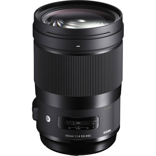 Sigma 40mm f/1.4 DG HSM Art Lens for Sony E