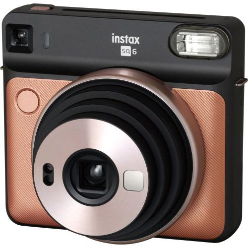 Fujifilm Instax Square SQ6 Instant Film Camera (Blush Gold)