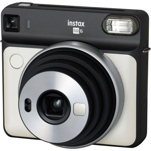 FUJIFILM INSTAX SQUARE SQ6 Instant Film Camera (Pearl White)