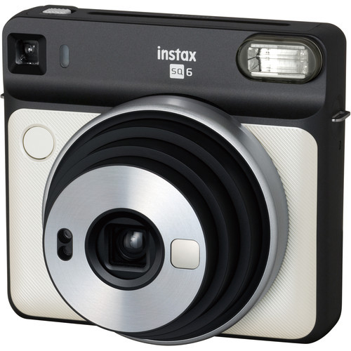 Fujifilm Instax Square SQ6 Instant Film Camera (Pearl White)