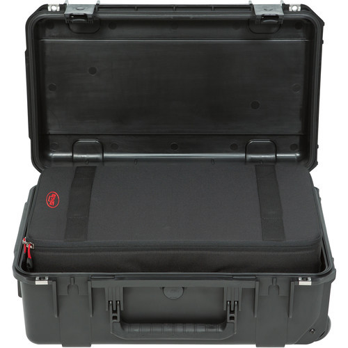 SKB iSeries 2011-7 Case with Think Tank-Designed Removable Zippered Divider Interior (Black)