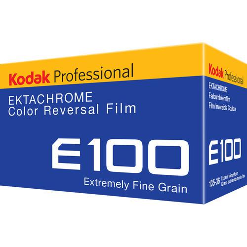 Kodak Professional Ektachrome E100 Color Transparency Film