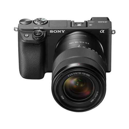 419f029d1a4 Sony Alpha a6400 Mirrorless APS-C Interchangeable-Lens Camera with 18-135mm  lens