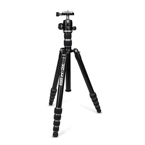 Promaster XC-M 525 Professional Aluminum Tripod Kit with Head - Silver