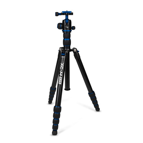 Promaster XC-M 525 Professional Aluminum Tripod Kit with Head - Blue