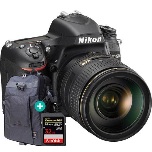 Nikon D750 + 24-120mm Lens Adventure Kit