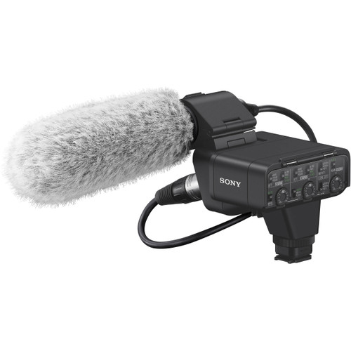Sony XLR-K3M Dual-Channel Digital XLR Audio Adapter Kit with Shotgun Microphone