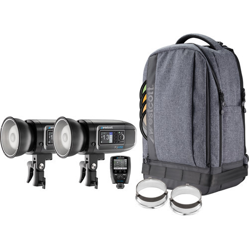 Westcott FJ400 Strobe 2-Light Backpack Kit