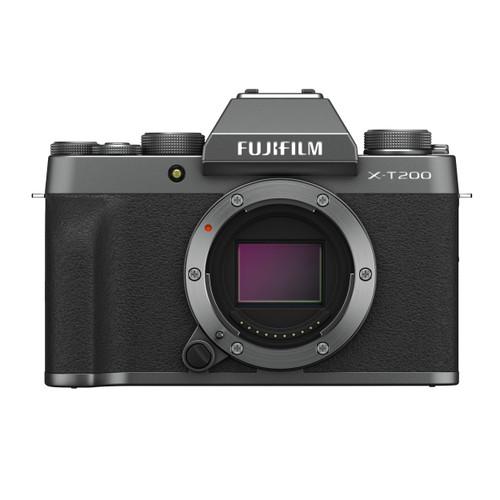 Fujifilm X-T200 Mirrorless Digital Camera Body (Dark Silver)
